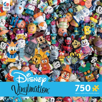 Disney Vinylmation Jigsaw Puzzle