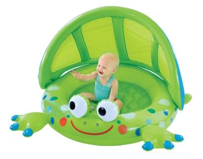Frog Baby Shade Pool