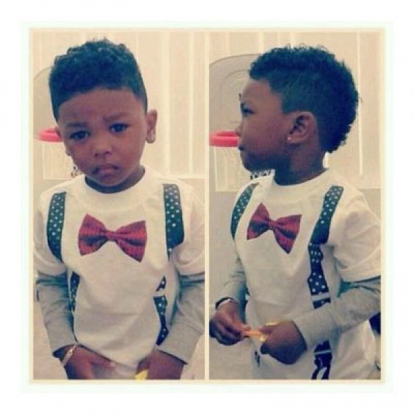 High Pompadour Hair Cut For Boys!