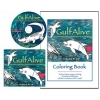 GulfAlive Music CD and Coloring Book Set