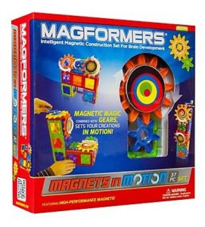 Magformers® Magnets in motion 37Pc Gear Set
