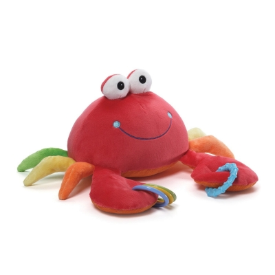 GUND Color Fun Aquarium Crab Activity Toy