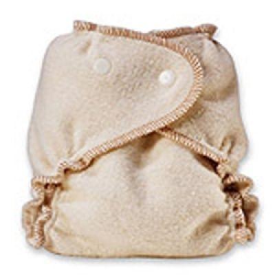 Kissa's Organic Cotton/Hemp Fitted Diaper