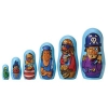 Pirate Matryoshka! 6 Piece Nesting Doll Set