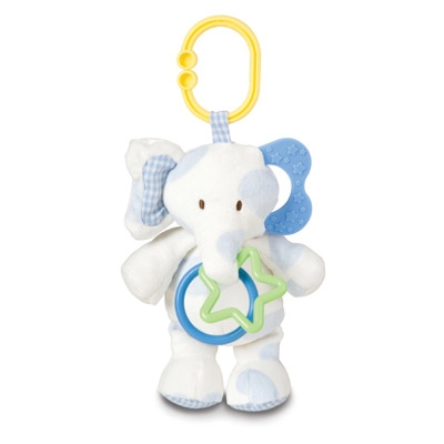 Asthma & Allergy Friendly™ On-The-Go Elephant & Puppy