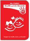 Child Health Passport (Red)