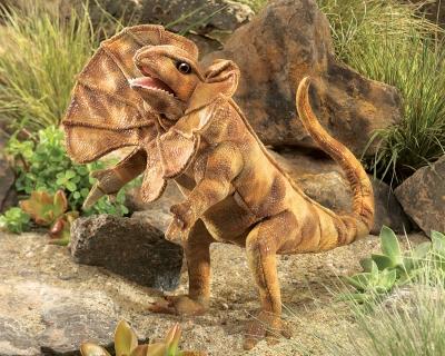Folkmanis® Frilled Lizard Puppet
