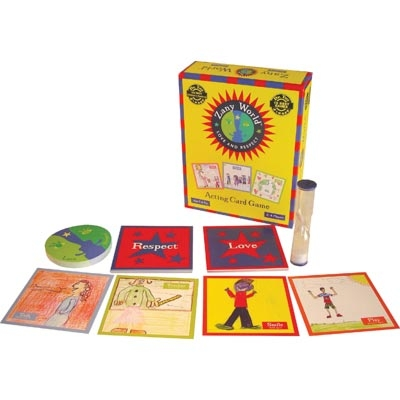 Zany World Acting Card Game