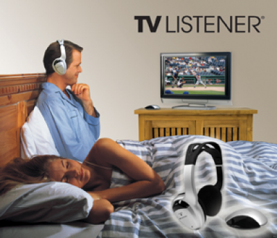 TV Listener® Stereo Wireless Headset