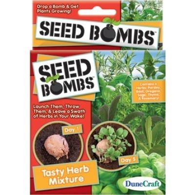 Tasty Herb Mixture Seed Bombs