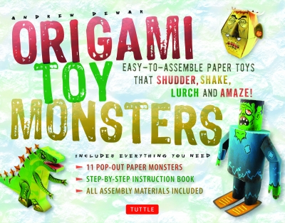 Origami Toy Monsters