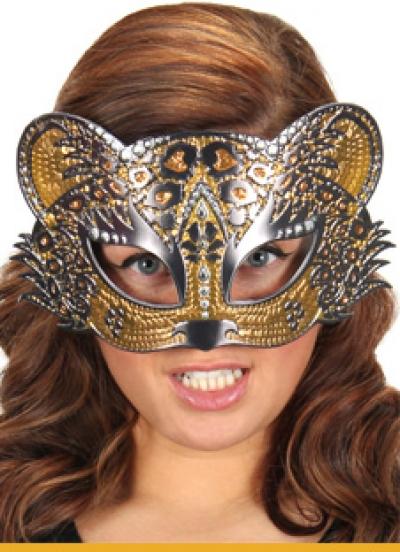 Leopard Sparkle Mask