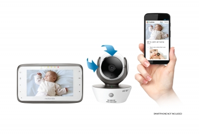 Motorola MBP854CONNECT Digital Video Baby Monitor