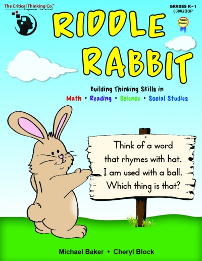 Riddle Rabbit Pre-K Android App for Tablets