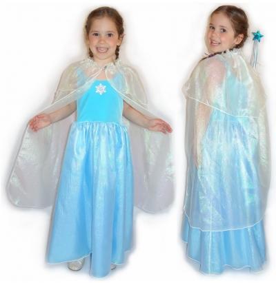 Frost Fairy Dress & Cape