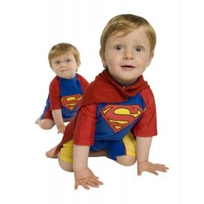 Superman™ & Supergirl™-UV Swim and Play all Day Wear + Towel Cape