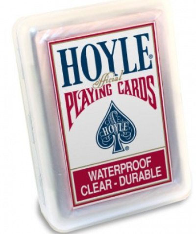 Hoyle® Clear Waterproof Cards
