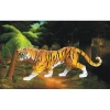 Wood Craft Construction Kit-Tiger 3D Puzzle