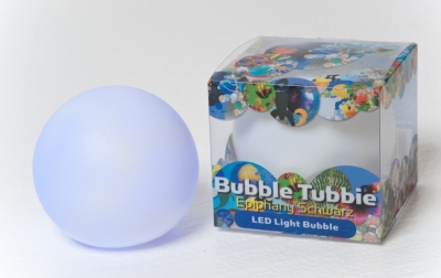 Bubbie Tubbie Plastic Bath Book with LED Light Bubble Ball