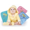 Luvable Friends Woven Terry Hooded Towel