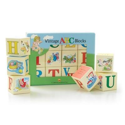 Vintage ABC Blocks