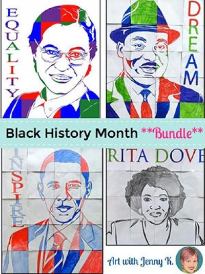 Rosa Parks Black History Kids Craft