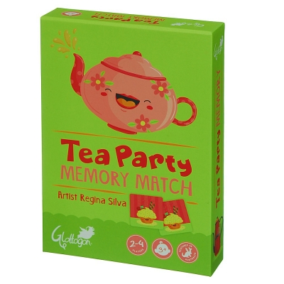 Memory Match Tea Party