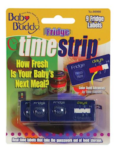 Baby Buddy Time Strip Fridge