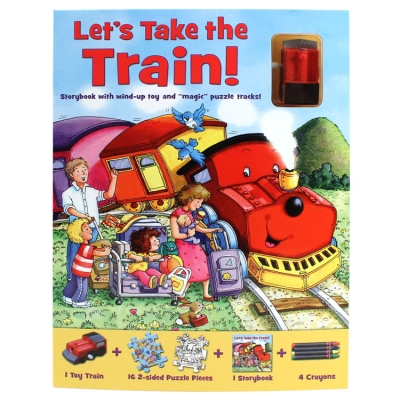 Magnix Puzzle Tracks: Let's Take the Train!