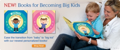 I'm a Big Boy/Girl Now! Personalized Book