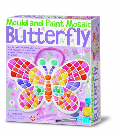Mould and Paint Mosaic Butterfly Kit