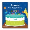 My Very Happy Birthday Personalized Board Book for boys or girls