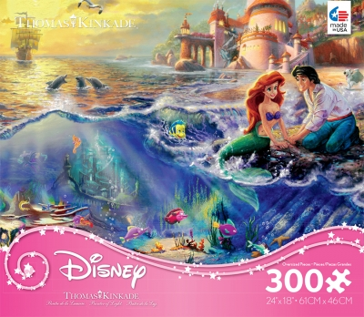 Thomas Kinkade Disney Dreams Princess