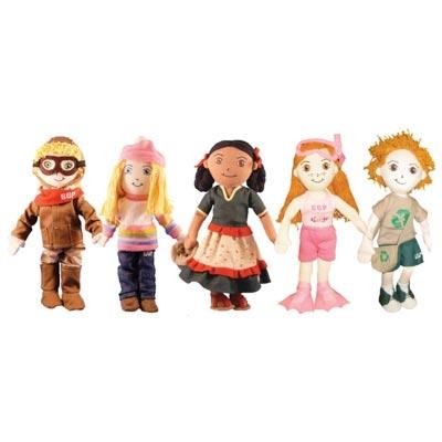 Eco-Friendly Cotton Dolls