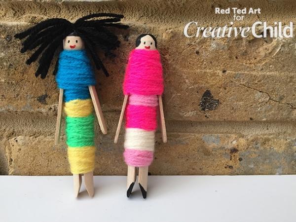 Dolly Peg Worry Dolls Creative Child