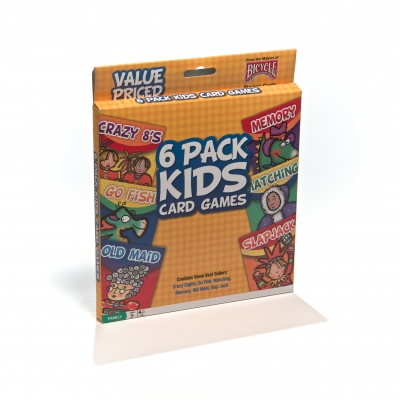 6 Pack Kids Card Games