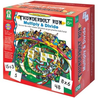 Thunderbolt Run: Multiple & Divide