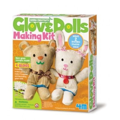 Green Creativity/Glove Dolls Making Kit