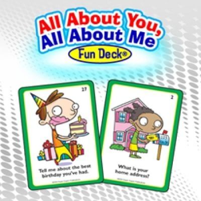 All About You, All About Me Fun Deck Mobile App