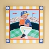 Travie on the Mound Canvas Wall Art