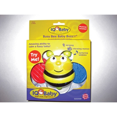 Busy Bee Baby Buzz'r®- Musical Vibrating Baby Soother