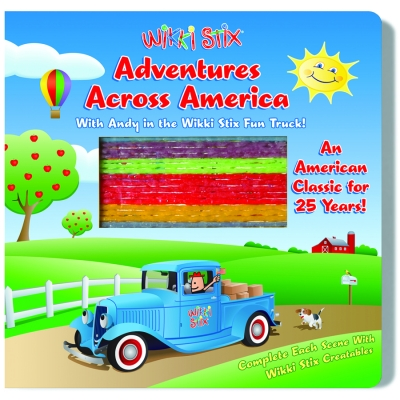 Adventures Across America with Andy in the Wikki Stix Fun Truck