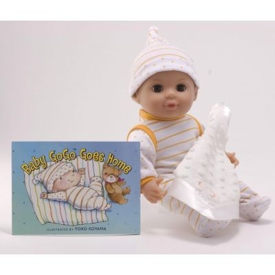 Baby GoGo™ Goes Home Book and Doll Set