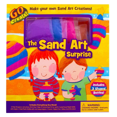 Go Create: The Sand Art Surprise