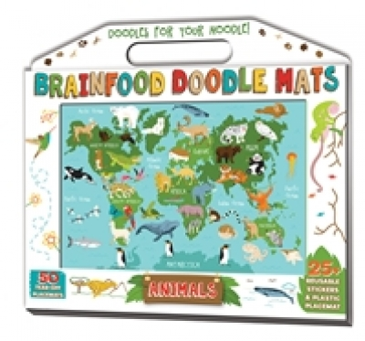 Brainfood Doodle Mats: Animals