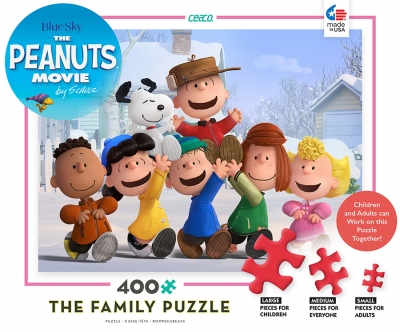 The Peanuts Family Puzzle