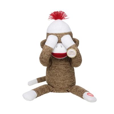 Peekaboo Sock Monkey