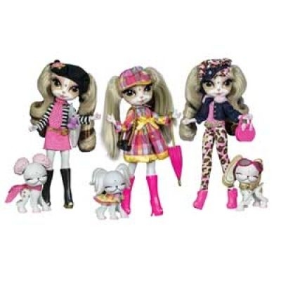 Pinkie Cooper and the Jet Set Pets: Travel Collection Dolls