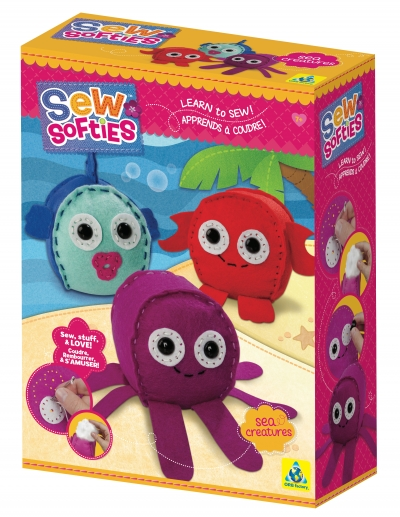 Sew Softies™ Sea Creatures