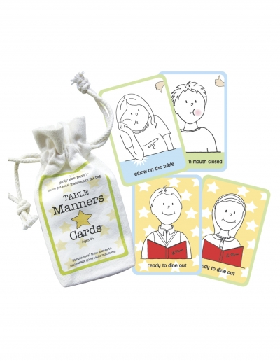 Table Manners Cards